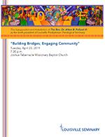 Building Bridges Program Cover