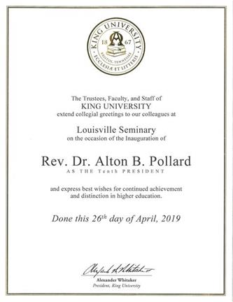 King University (updated date)