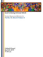 Worship Service Program Cover