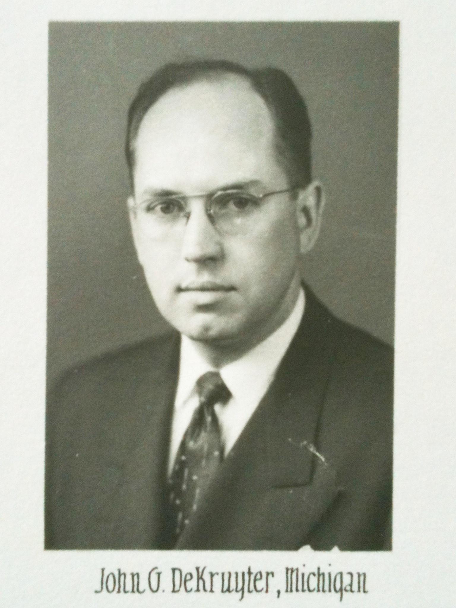 John G. DeKruyter