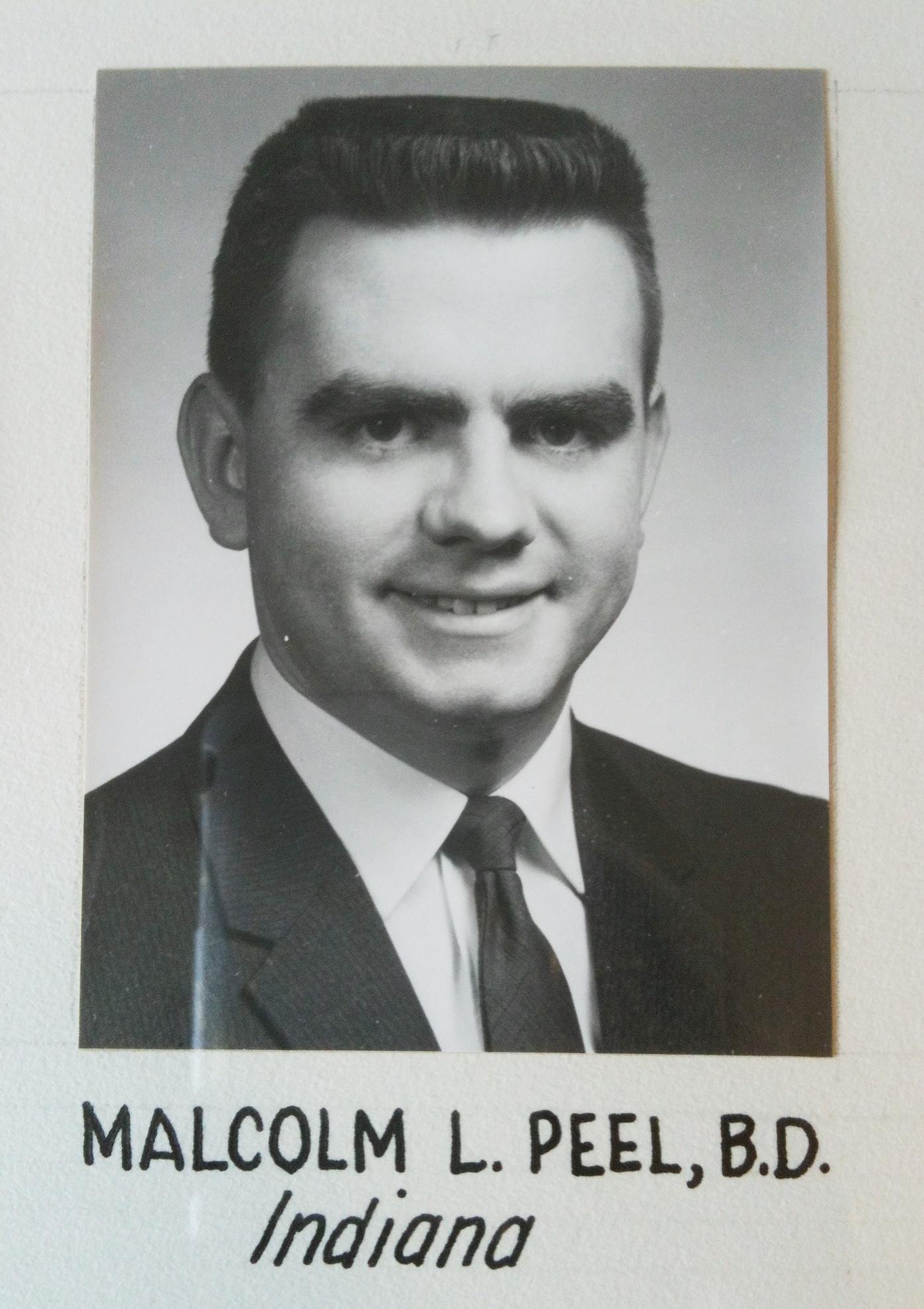 Malcolm Lee Peel