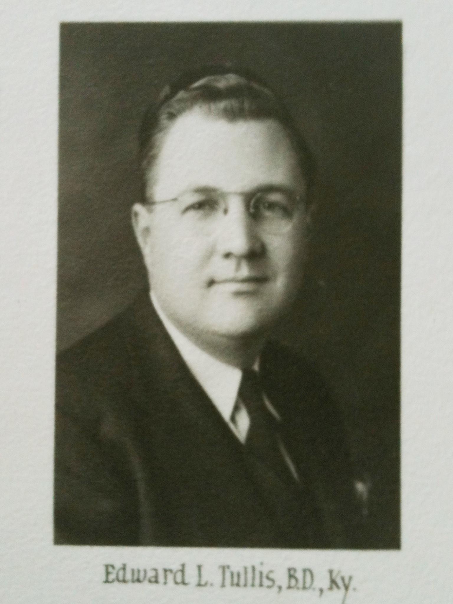 Edward Lewis Tullis