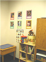 Building corner of the play therapy room