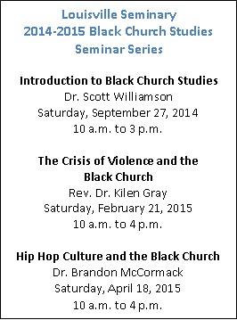BCS Seminar Schedule