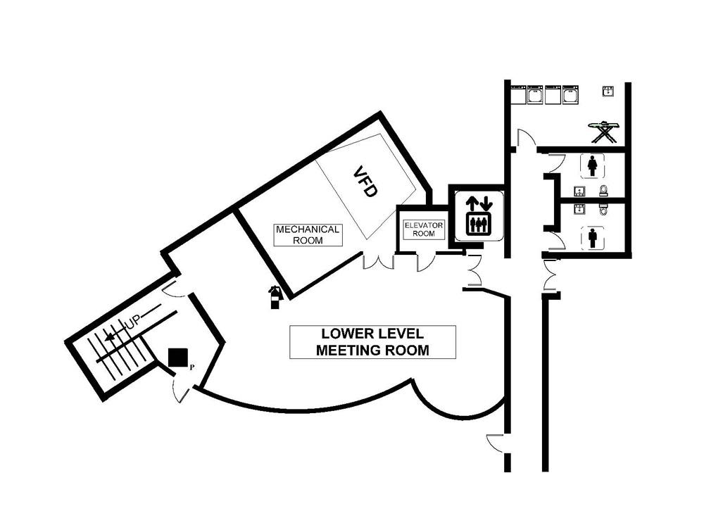 Floor Plan-Seating Capacities