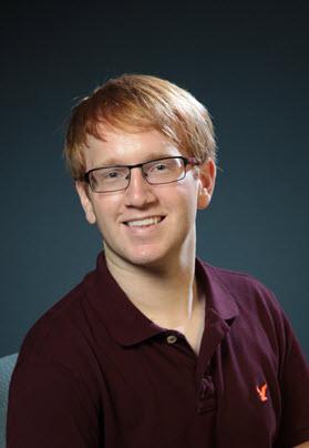 Student Rep Eric Van Veelen