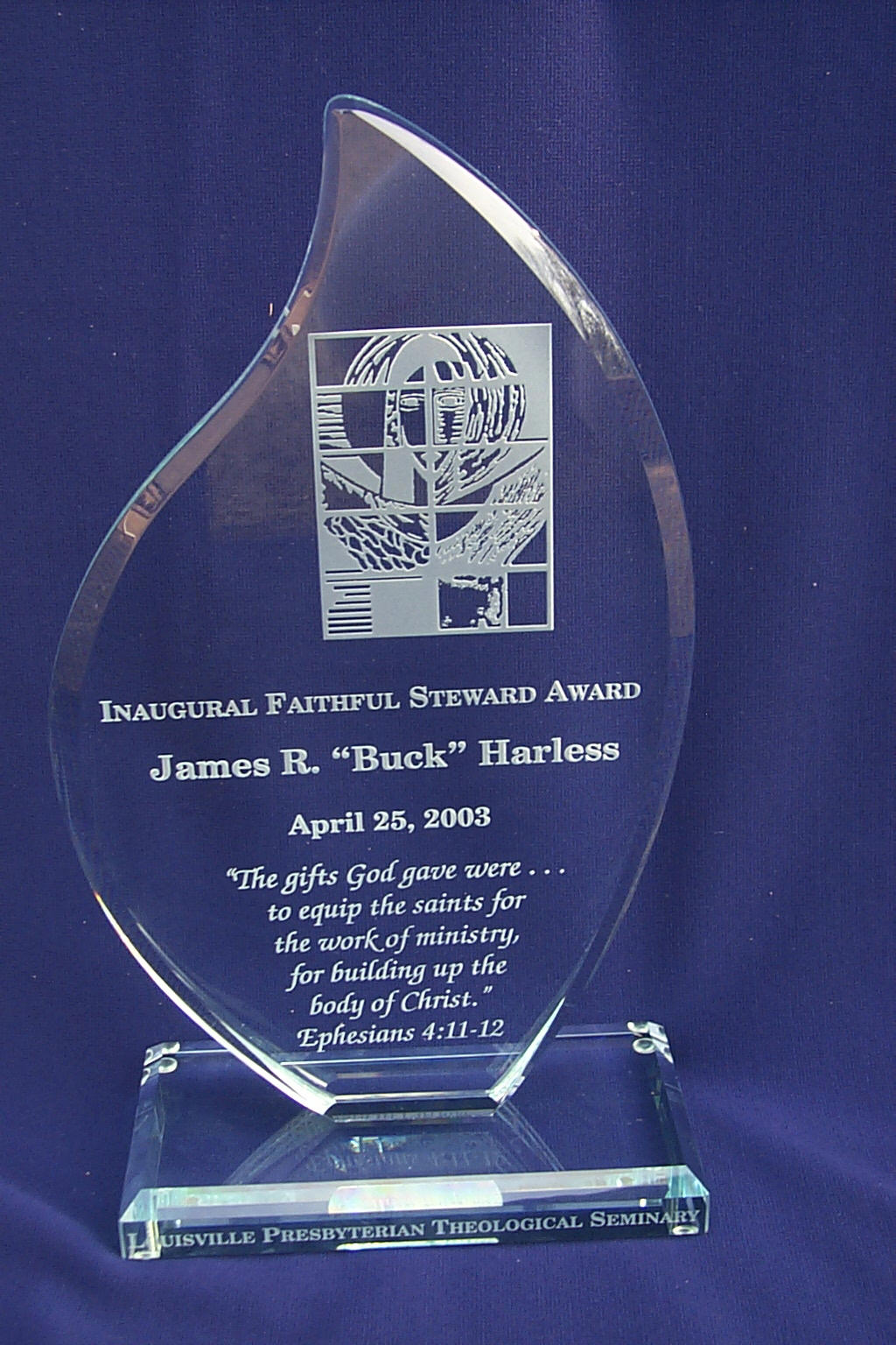 The Faithful Steward Award