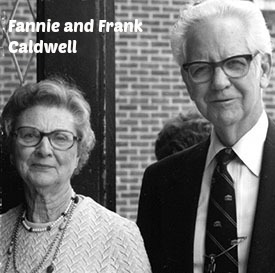 Fannie and Frank Caldwell