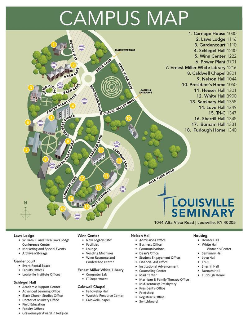 Louisville Campus Map Maps